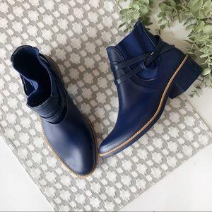 BERNARDO• navy rain booties